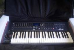 Teclado Controlador Impulse49 Usb Midi Novation, Troco Por Teclado Yamaha!!