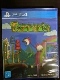 Título do anúncio: Terraria para Playstation 4 jogo novo