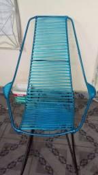Cadeira de balanço de macarrão