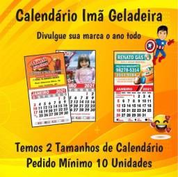 Título do anúncio: Calendário 2022 Ima de Geladeira Personalizado