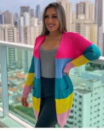 Cardigan Colorido tricot da Barbie