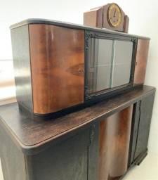 Título do anúncio: Arca oratório cristaleira - Art Deco em radica - Móvel Alemão com + de 100 anos