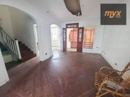 Título do anúncio: Casa com 4 dormitórios para alugar, 164 m² por R$ 5.000,00/mês - Gonzaga - Santos/SP