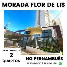 Título do anúncio: Morada Flor de Lis - Pernambués, 2/4 (1 suíte) - Oportunidade