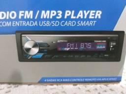 Título do anúncio: Rádio Bluetooth USB Novo Última Unidade