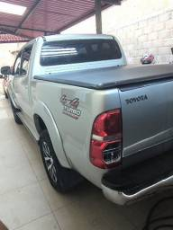 Hilux SRV cabine dupla 4x4 turbo diesel TOP