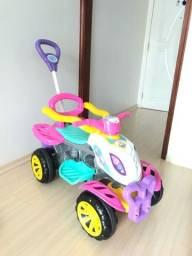 Título do anúncio: Quadriciclo infantil - marca Maral - modelo Unicórnio