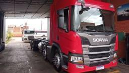 Título do anúncio: Scania p 320 8×2