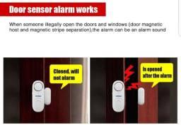 Alarme de porta e janela
