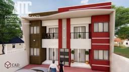 Apartamento a venda com 2 dormitórios e varanda em Santo Inácio, Cabo !