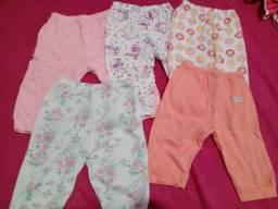 Lote de roupas bebê