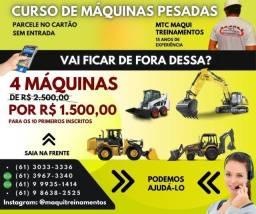 Título do anúncio: Curso de Máquinas pesadas Brasília DF