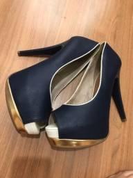 Sapato crysalis alto novo
