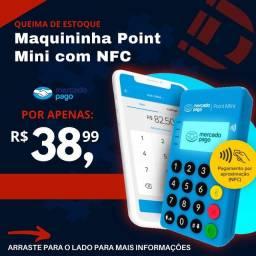 Título do anúncio: Maquinhas Point Mini com NFC PROMOÇÃO