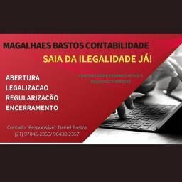 CONTABILIDADE E LEGALIZAÇÃO DE EMPRESAS