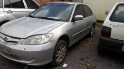 Civic 2005 1.7 automático R$12500 - 2005