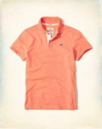 Camisa' polo Hollister coral