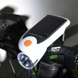 Lanterna Solar Dianteira Usb