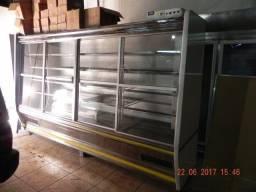 Refrigerador auto-serviço expositor 4 portas,