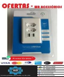 Tomada USB com carregador -entrega grátis