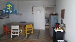 Apartamento com 3 dormitórios à venda, 75 m² por r$ 410.000,00 - bangu - santo andré/sp