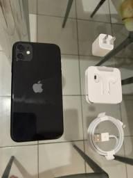 Iphone 11 128gb Black NOVO garantia de 1 ano
