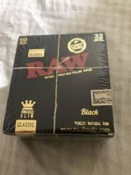 Caixa seda raw king size original com 50