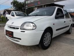 Clio Sedan RN 1.0 Sem Entrada - 2001