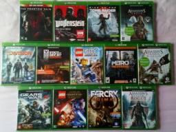 Jogos Xbox One por 50,00 cada