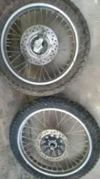 Vendo rodas da bros 160 2017