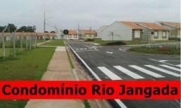 Casa 02 qtos sendo 01 suite Condomínio Rio Jangada