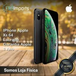 IPhone Apple Xs 64 Lacrado Garantia Apple 1 Ano -Somos Loja Fisica