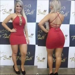 Vendo vestido da Pit Bull valor 130