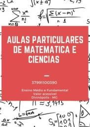 Aulas particulares de matemática Divinópolis