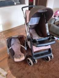 Carrinho de Bebê e bebe confort