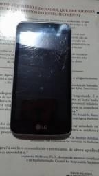 LG K4 tela trincada