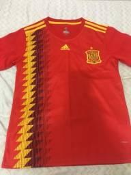Camisa time seleção espanhola