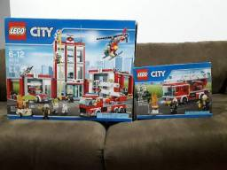 Vendo: Lego City 60110 e 60107, excelente estado!