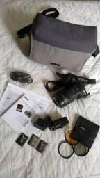 Câmera Nikon P900, Completíssima. Veja descrição