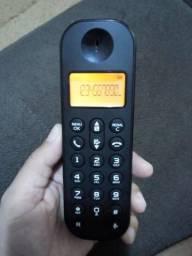 Telefone sem fio philips com identificador de chamadas