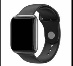 Relógio inteligente smartwatch completo cy05 monitora a pressão e esportes