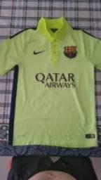 59db25feb1 Camiseta Original Barcelona 2014 Terceira Tamanho P