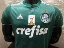 Camisa Adidas Palmeiras I Campeão Brasileiro 2018 082b8cb1d438a