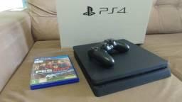 PS4 Slim HD 500GB / Aceito PS3 como parte do pagamento