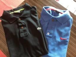 Kit duas camisas pólo M