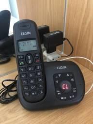 Telefone sem fio com secretaria eletrônica Elgin TSF-700SE USADO