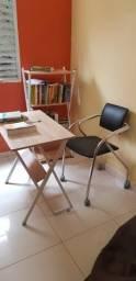 Conjunto escritório semi novo tudo por 500,00 ou 200,00 peça individual