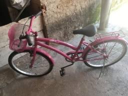 Bicicleta infanto-juvenil Rosa NOVA