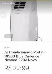 Ar condicionado portátil cadence 10500btus