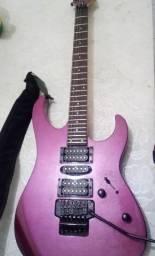 Guitarra Washburn WG-580 purple